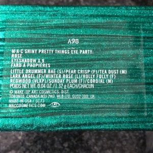 MAC Cosmetics Makeup - Mac eye shadow palette